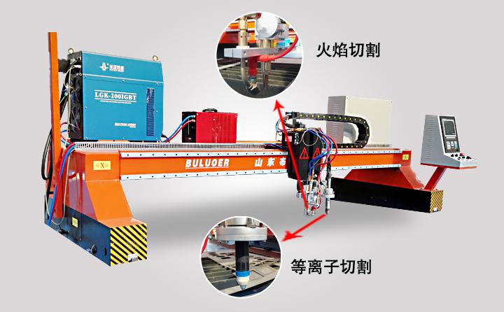 龙门式切割机最新产品优势新鲜出炉了