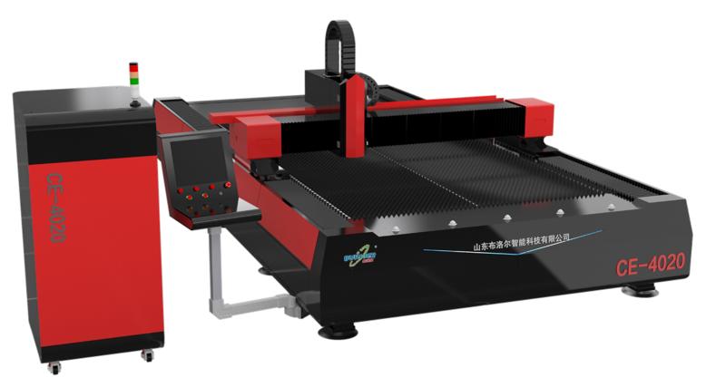 光纤激光切割机模型.