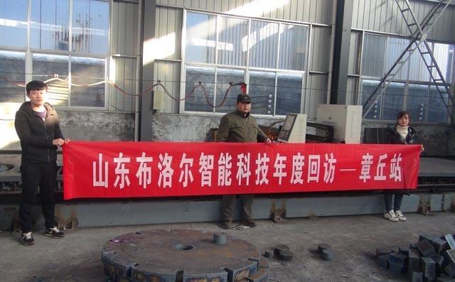 济南地区客户第三次采购龙门切割机