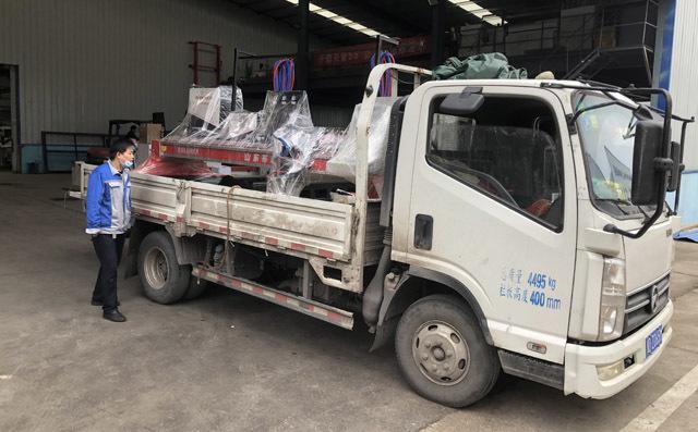 龙门切割机发往河北邯郸