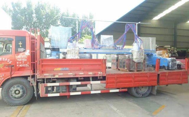 龙门式切割机发往山西,助力于钢结构行业制造